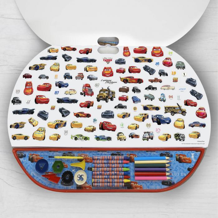 Set Pentru Desen 5 in1 Gigablock Cars 1