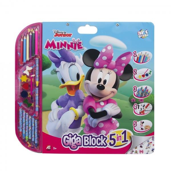 Set Pictrura 5 In 1 Gigablok Minnie Mouse 0