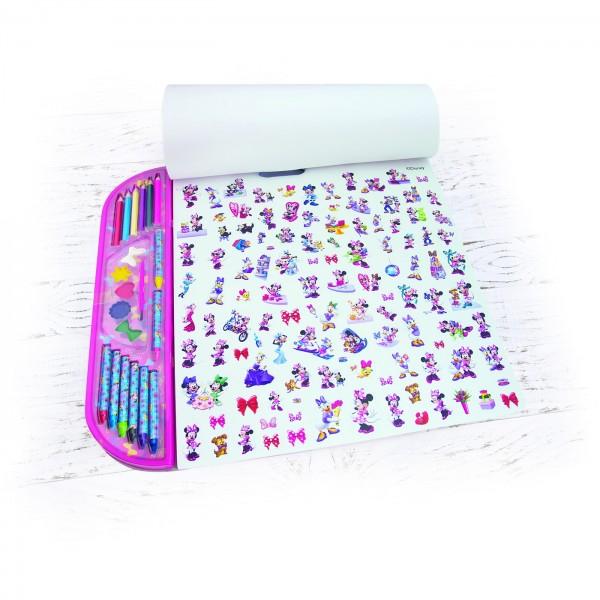 Set Pictrura 5 In 1 Gigablok Minnie Mouse 1