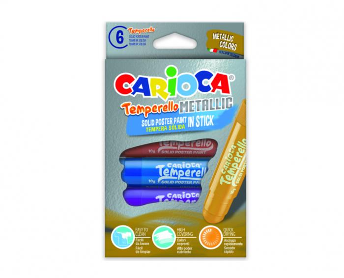 Set Tempera Metal Stick - Carioca 0