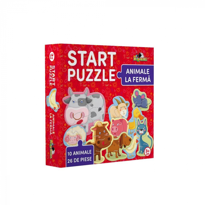Start Puzzle Noriel - Animale la ferma 0