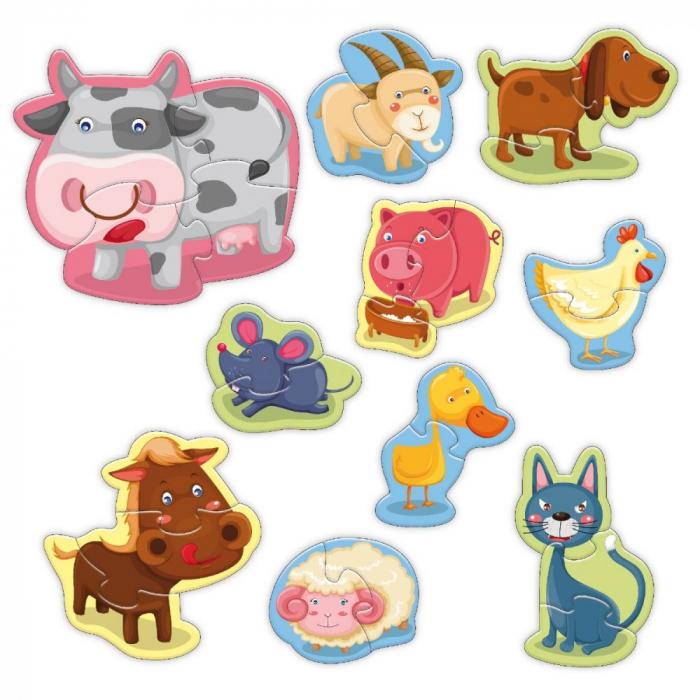 Start Puzzle Noriel - Animale la ferma [1]
