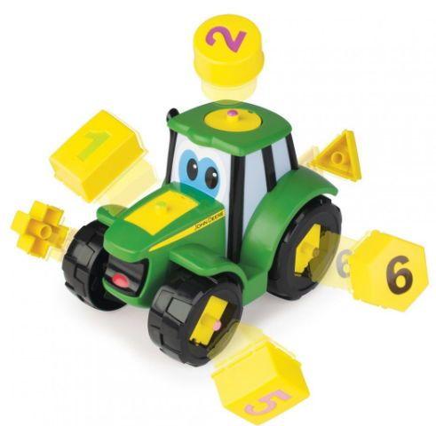 Tractoraș Cu Forme Și Cifre - John Deere 1