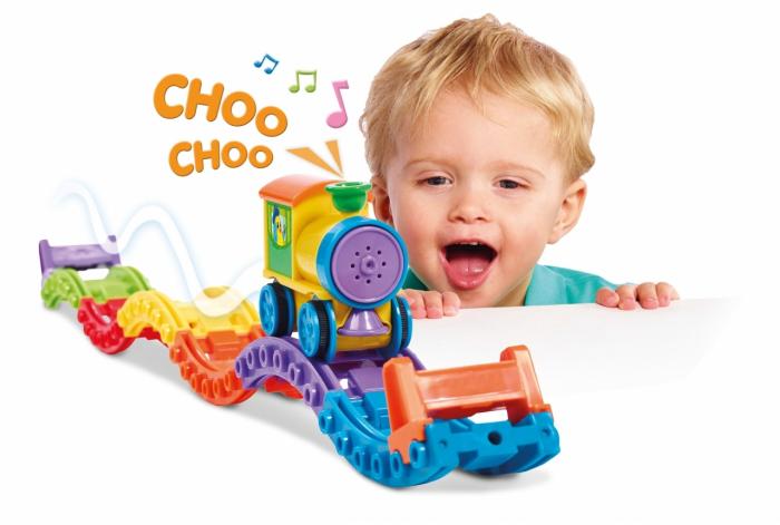 Jucarie Tomy- Trenuletul Choo Choo 1