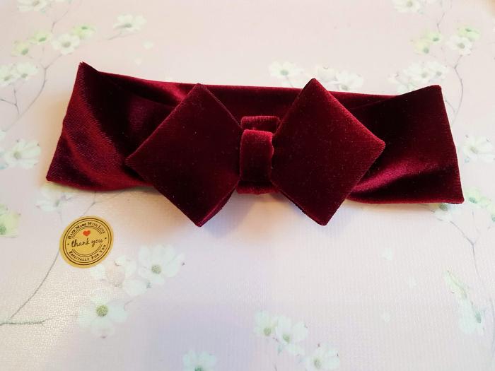 Red velvet Bow 1-3 ani [0]