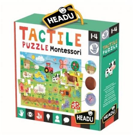 Montessori puzzle tactil0