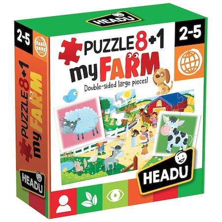 8+1 Primul meu Puzzle Ferma [0]