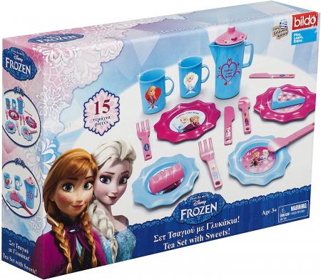 Set ceai cu dulciuri Frozen
