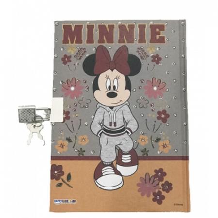 Agendacu lacat si cheie cu model Minnie [2]