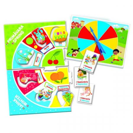 Joc Educativ - Invata Lunile Si Anotimpurile1