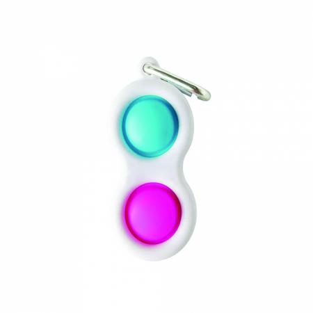 Jucarie Push Pop Bubble Fidget, Pop It, breloc2