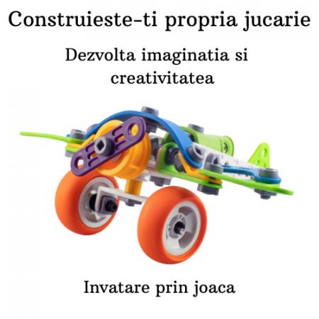 Set de constructie Avionul -73 piese4