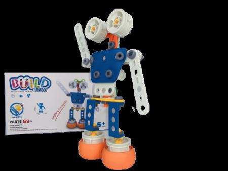 Set de constructie Robotul, 59 piese1