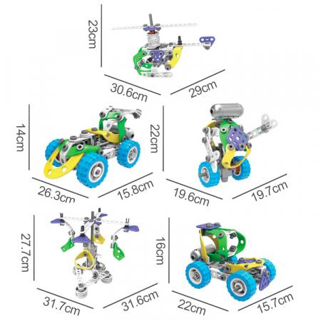 Set de constructie 5 in 1 motorizat [5]