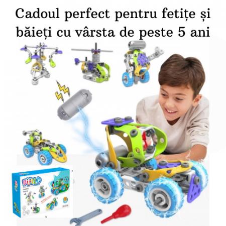 Set de constructie 5 in 1 motorizat [7]
