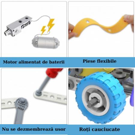 Set de constructie 5 in 1 motorizat [3]