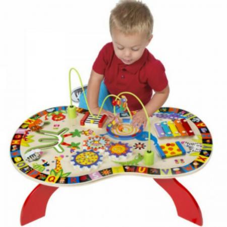 Busy Table - Masuta interactiva cu activitati pentru copii0