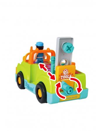 Camionul plin cu scule al micului mecanic cu lumini si sunete [3]