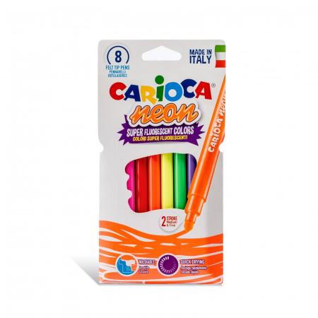 Carioci fluorescente 8 culori/cutie - CARIOCA [0]