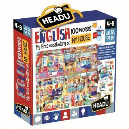 Engleza nivel simplu- 100 cuvinte Casa mea [0]