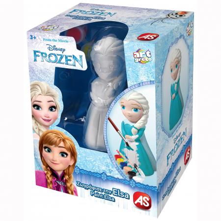 Figurina De Pictat 3D - Elsa Frozen0
