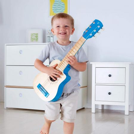 Chitara albastra vibranta, Hape [3]