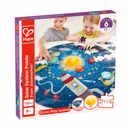 Hape Puzzle sistemul solar [0]
