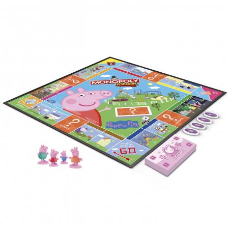 Joc De Societate Monopoly Peppa Pig Junior [1]