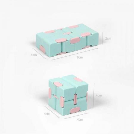 Infinity Magic Cube- Albastru/Roz [2]