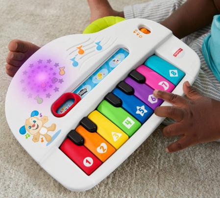 Jucarie bebelusi Fisher Price - Laugh&Learn, Pianul interactiv, lb. romana [5]