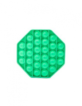 Jucarie Pop It Now & Flip It, Push Bubble Octogon Verde2