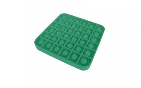 Jucarie Pop It Now & Flip It, Push Bubble Patrat Verde1