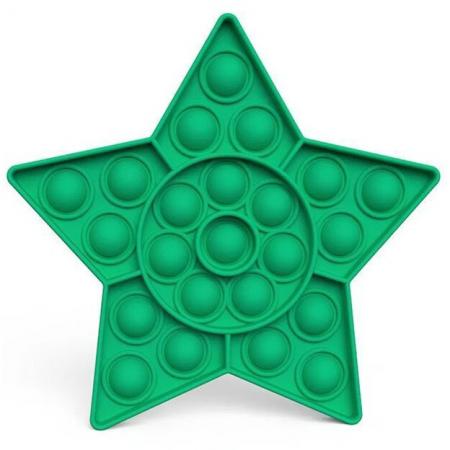 Jucarie Pop It Now & Flip It, Push Bubble Stea verde [1]