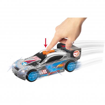 Masinuta Hot Wheels - Time Tracker, Cu Lumini Si Sunete [2]