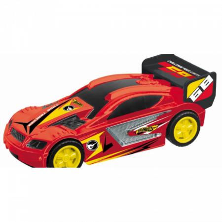 Masinuta pull back Hot Wheels Hot Wheels - Time Tracker, Rosu1