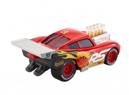Masinuta metalica Cars XRS de curse personajul Fulger McQueen [8]