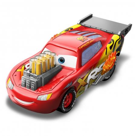 Masinuta metalica Cars XRS de curse personajul Fulger McQueen [6]