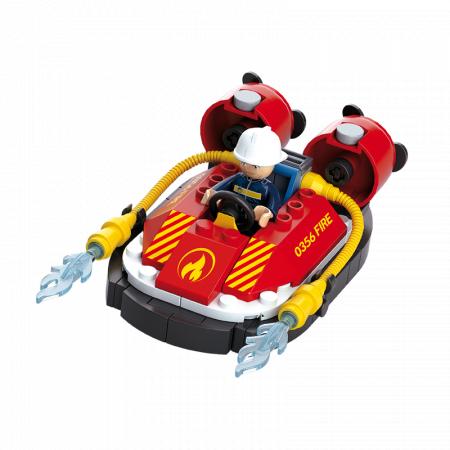 Set De Constructie Sluban – Mini Barca De Interventie0