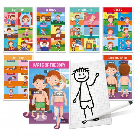 Montessori- Sa invatam partile corpului1