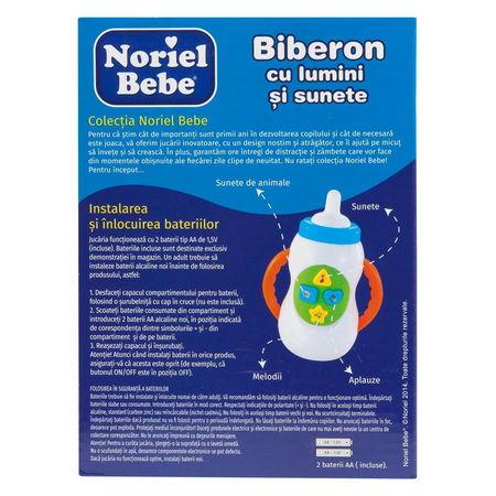 Noriel Bebe - Biberon cu lumini si sunete2