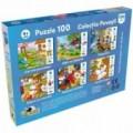 Noriel Puzzle 100 piese - Cei Trei Purcelusi2