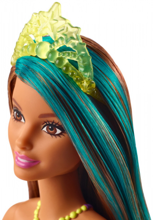 Papusa Barbie Dreamtopia - Printesa cu coronita galbena [3]