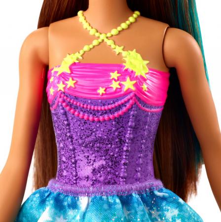 Papusa Barbie Dreamtopia - Printesa cu coronita galbena [4]