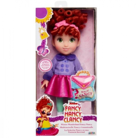 Papusa Fancy Nancy Clancy, Winter Wonderland, 25 Cm0