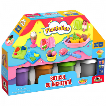 Buticul Cu Inghetata- Set De Joaca Plastelino [0]