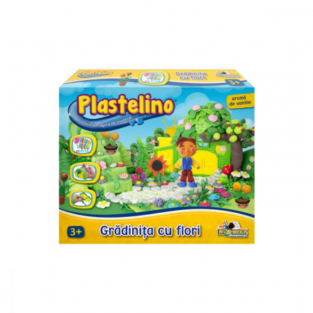 Plastelino - Gradinita cu Flori din Plastilina II [0]