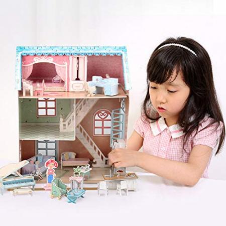 Puzzle 3D Casa Pianistului 105 Piese [1]