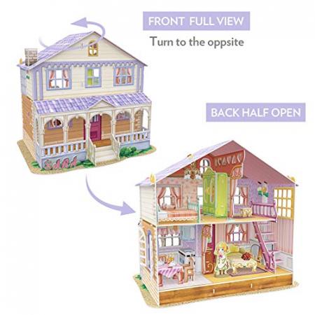 Puzzle 3D CubicFun-Casuta Papusilor  Sara's Home [3]