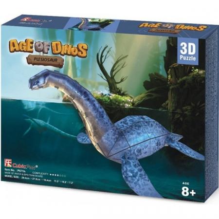 Puzzle 3D CubicFun- Plesiosaur 36 Piese [1]
