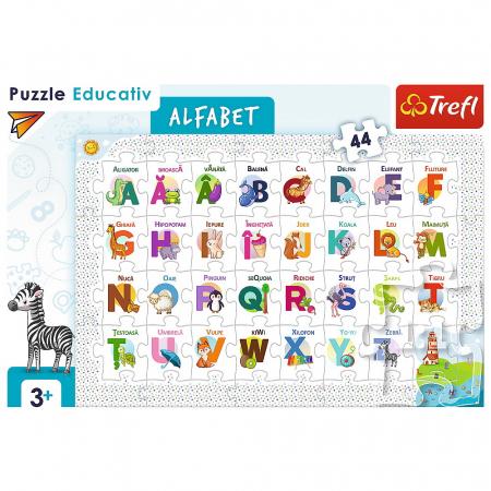 Puzzle 44 Educational Alfabetul [2]